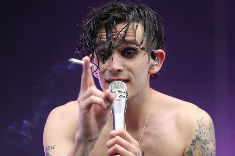 Matty Healy of The 1975