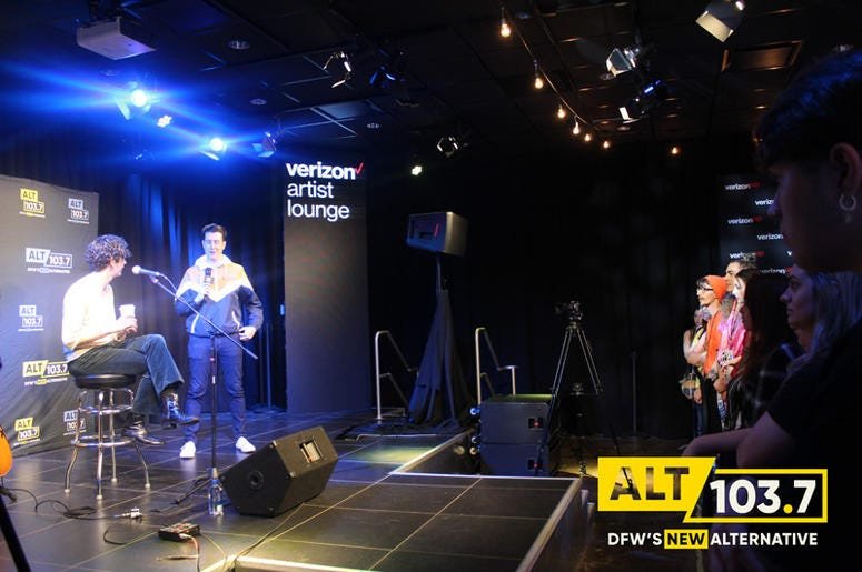 The 1975 Live in The Verizon Artist Lounge At ALT 103.7 Studios
