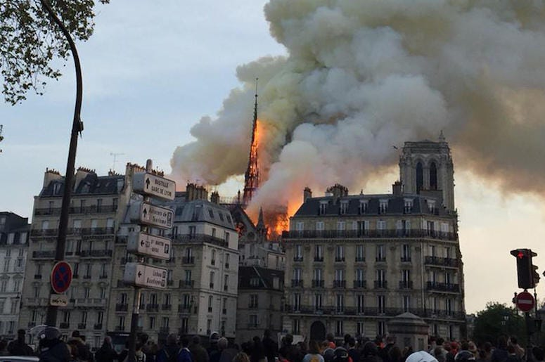Notre Dame, Cathedral, Fire, Paris, 2019
