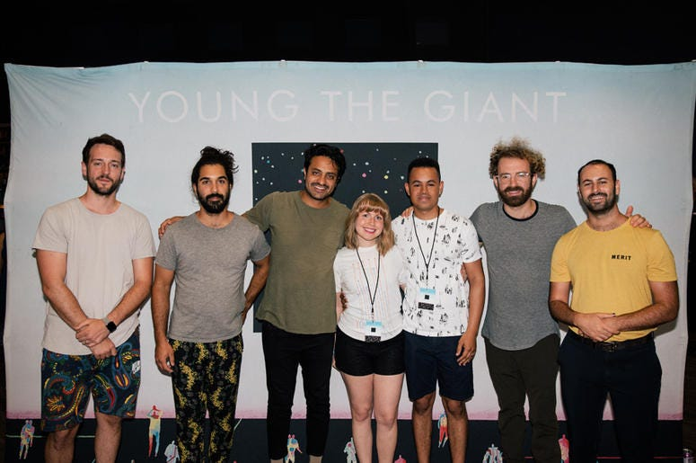 Young The Giant Meet And Greet At Toyota Music Factory