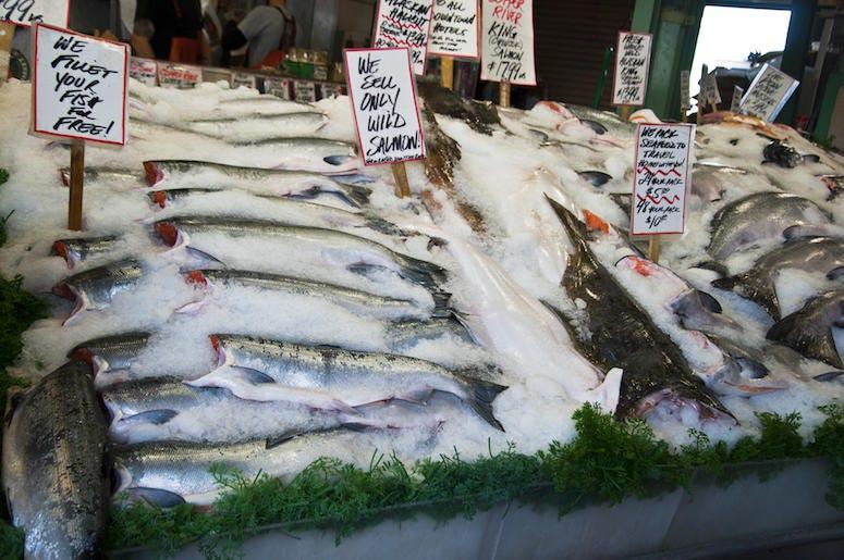 Fish, Supermarket, Market