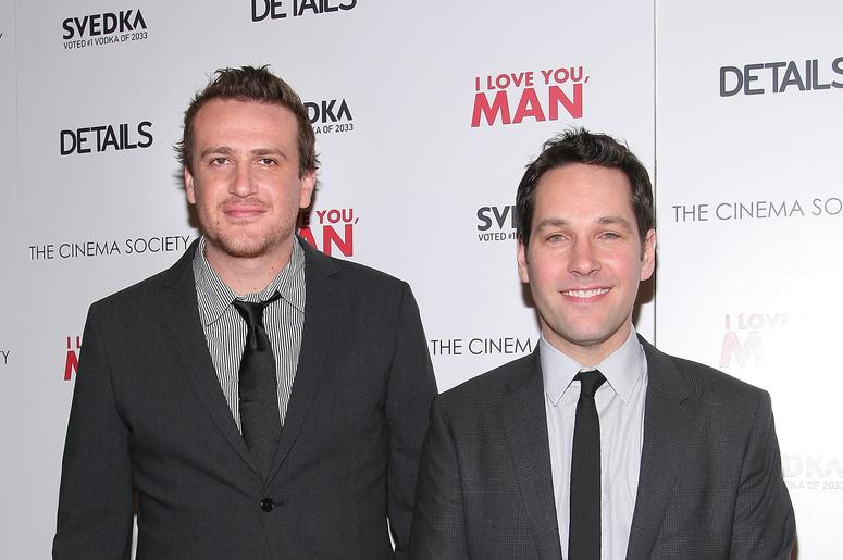 Jason Segel and Paul Rudd