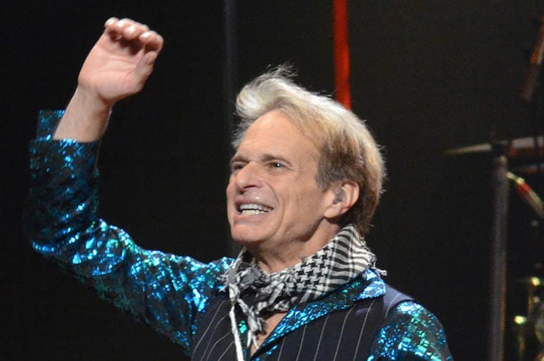 David Lee Roth, Van Halen, Smiling, Hair, 2012