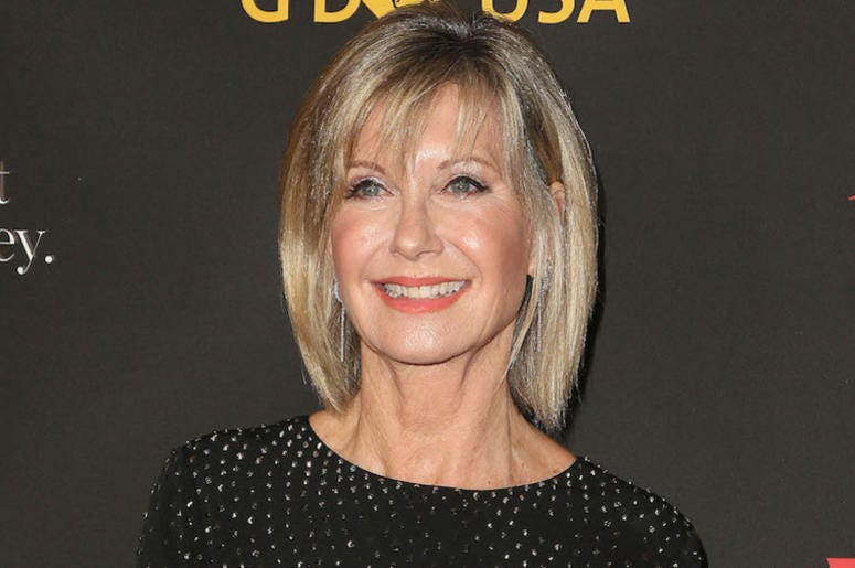 Olivia Newton-John, G'Day USA Los Angeles Black Tie Gala, Red Carpet, 2018