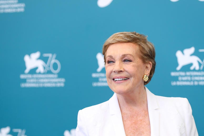 Julie Andrews, Red Carpet, Venice Film Festival, 2019