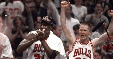 Steve Kerr and Michael Jordan