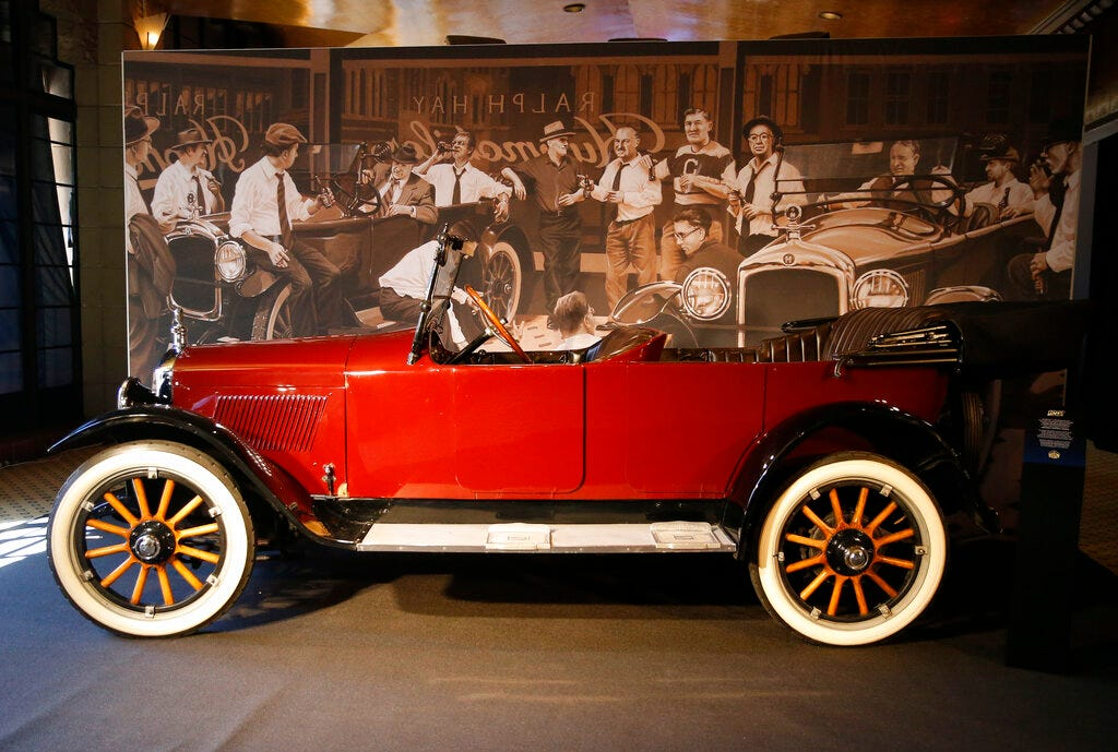 The Humble Hupmobile Lends Support In Start Of Nfl 97 3 The Fan