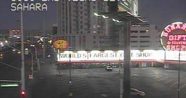 Exterior shot of the Bonanza Gift Shop on Las Vegas Boulevard and Sahara