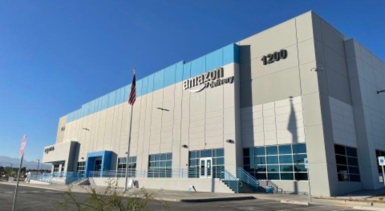 Amazon's delivery center in North Las Vegas