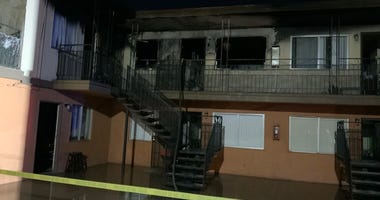 Apartment fire on Valley View and Pennwood on 12-29-20