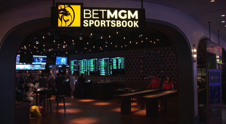SportsBook at the Park MGM