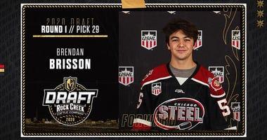 Vegas Golden Knights 1st round pick Brendon Brisson