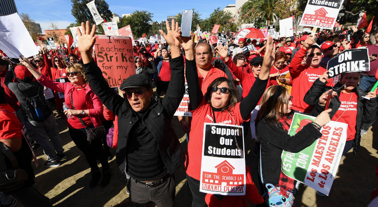 CCSD Teachers Willing to Strike for Higher Pay