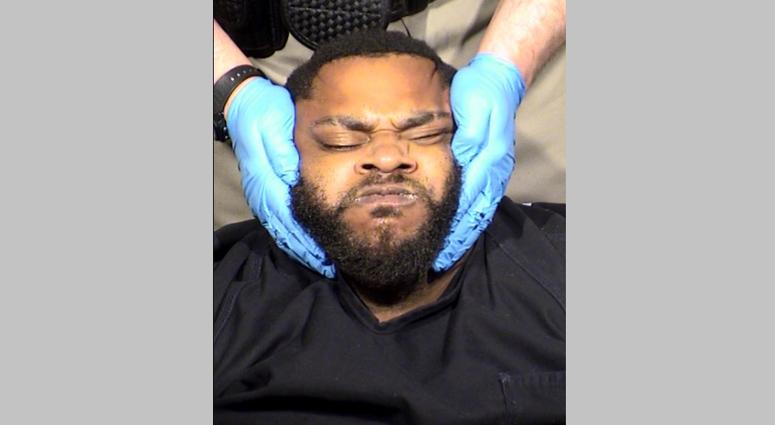 Mug shot of murder suspect Clarence Martin Jr