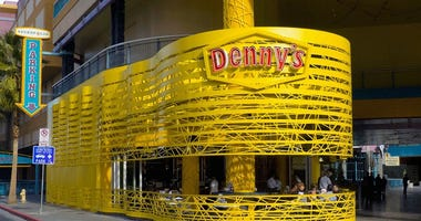 Picture of a Pop-Up Denny's In Downtown Las Vegas