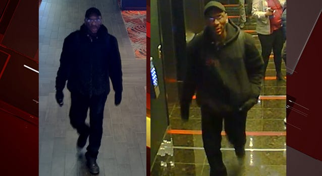 Surveillance snapshot of robbery suspect from 1-20-20