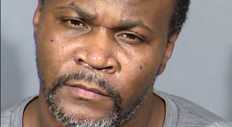 Mug shot of murder suspect Eric Perry