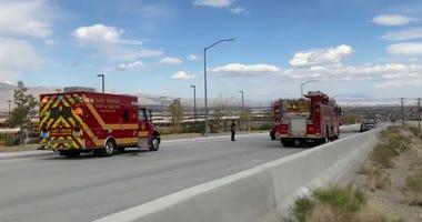 Scene of fatal pickup truck fire from 3-1-20