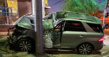 Fatal auto-pedestrian crash pic from 8-3-20