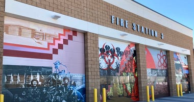 Picture Of Las Vegas' New Fire Station 3