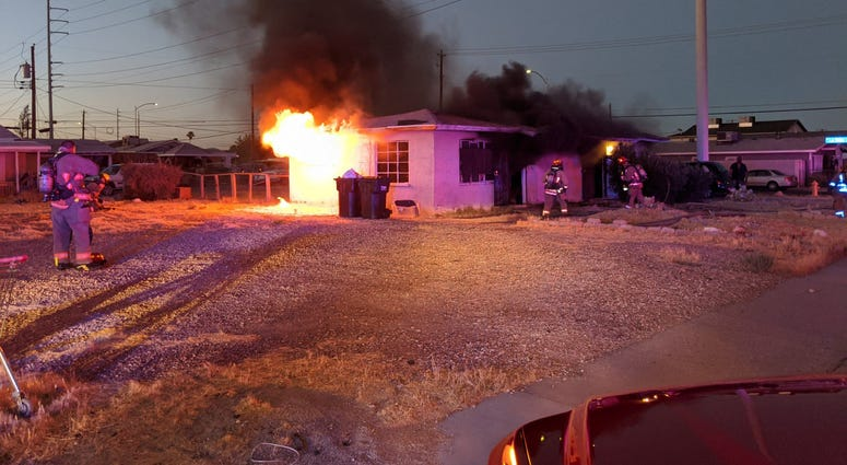Structure Fire from 7-9-20