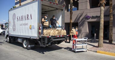 Sahara and World Kitchen bringing food to health care workers
