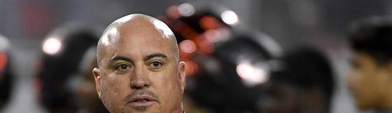 UNLV Football Coach Tony Sanchez