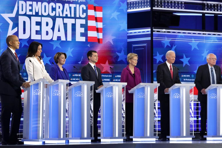 Top Dems Meet To Debate