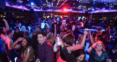 """A general view of atmosphere during the WNFR """"Party With Abandon"""" at the Ling Ling Club in Hakkasan Las Vegas Restaurant and Nightclub at MGM Grand Hotel & Casino on December 04, 2019"""