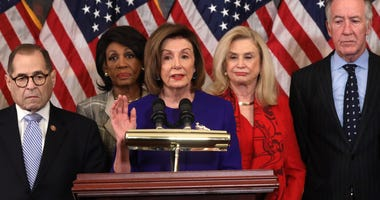 Democrats Announce 2 Articles Of Impeachment Against President Donald Trump on 12-10-19