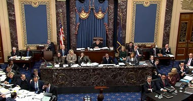 Senate Impeachment Trial Proceedings 1-22-20