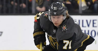 William Karlsson #71 of the Vegas Golden Knights