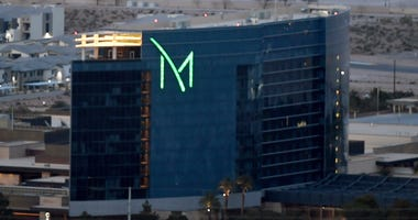 Exterior shot of the M Resort and Casino