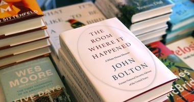 Copies of the new book 'The Room Where It Happened' by former national security advisor John Bolton are displayed at Book Passage on June 23, 2020 in Corte Madera, California