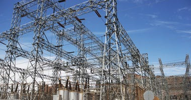 Electric Infrastructure - High-Voltage Electric Station