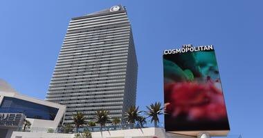 Shot of the Cosmopolitan on Las Vegas Boulevard