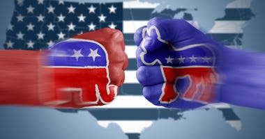 The Democrat Donkey vs. The Republican Elephant