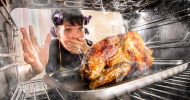 Burnin' the turkey