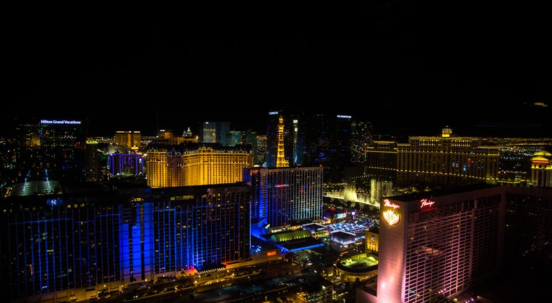 A view of the Las Vegas Strip from the High Roller