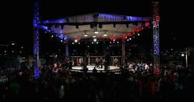 A general view during Professional Fighters League: Daytona at Daytona International Speedway on June 30, 2017 in Daytona Beach, Florida