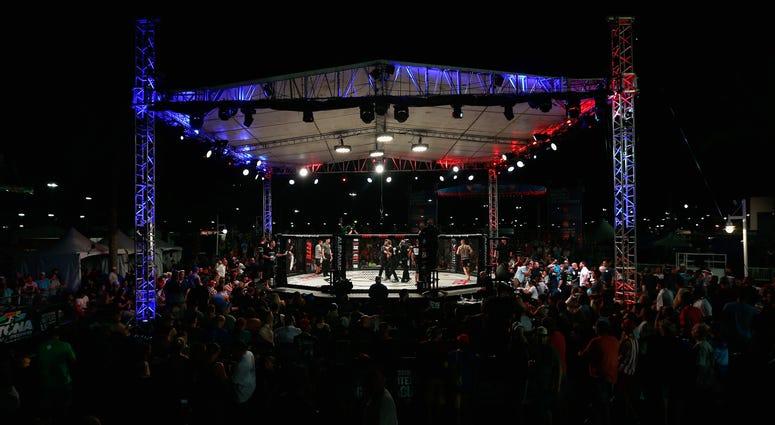 A general view during Professional Fighters League: Daytona at Daytona International Speedway on June 30, 2017 in Daytona Beach, Florida