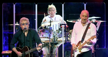 The Who performs at the Colosseum at Caesars Palace in 2017