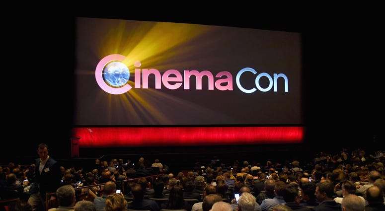 General atmosphere during the CinemaCon 2018 The State of the Industry and Walt Disney Studios Presentation at The Colosseum at Caesars Palace during CinemaCon 2017