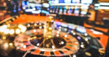 Interior View of Casino