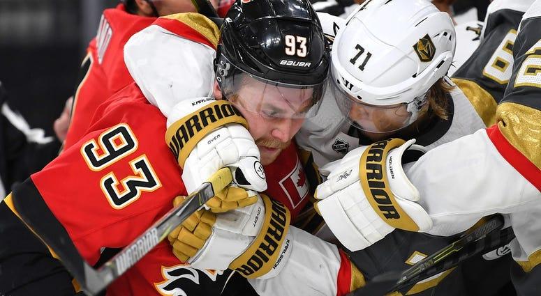 Calgary Flames vs. Vegas Golden Knights