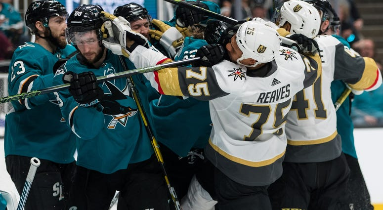 Vegas Golden Knights vs. San Jose Sharks