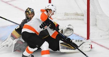 Golden Knights vs. Flyers