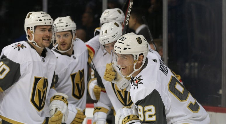 Vegas Golden Knights vs. New York Islanders