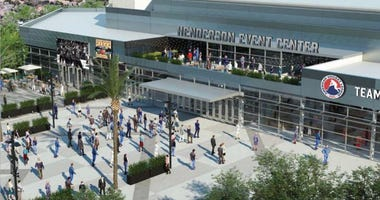Rendering of the proposed Henderson Events Center