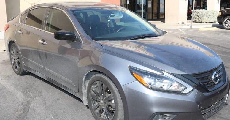 Automobile of sex assault suspect Luis Moreno